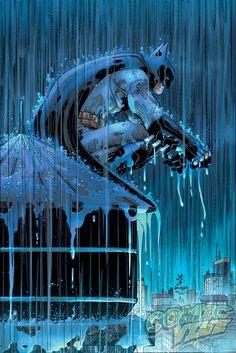 Batman #51 variant cover by John Romita, Jr. and Klaus Janson