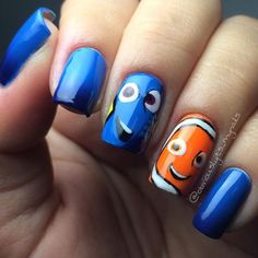 Finding Nemo nails!