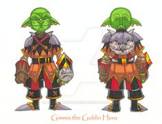 Gimmix the Goblin by badgerlordstudios.deviantart.com on @DeviantArt