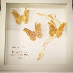 quote dance fly sizzix die cut inspiration