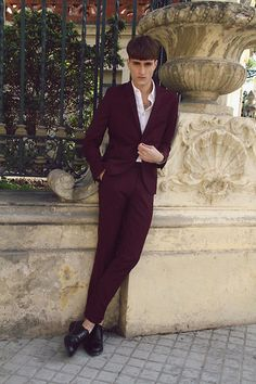 Purple color (by Adrian Bernal) http://lookbook.nu/look/4485067-Purple-color