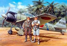 1942 A6M3 Model 32 Reisen - Hamp Tainan Air Group V-190, Hokoku-874, Chongpyong Go New Guinea, Buna AB