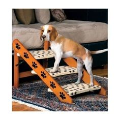 Dog Ramp Stairs Convertible Portable Folding Easy Ladder Steps Cat Bed Couch New