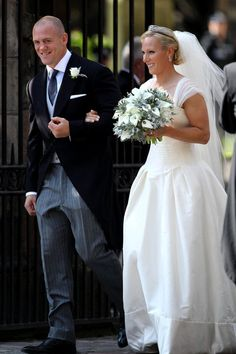 The 2011 wedding of Princess Anne's daughter Zara Phillips to rugby star Mike Tindall.