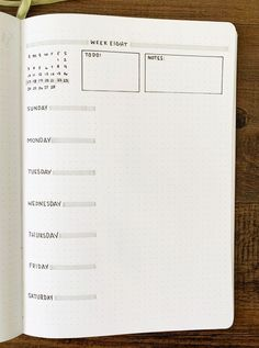 Just Pinned to Bullet Journal: Are you having trouble planning out your weeks? Check out these 18 weekly spread ideas for your bullet journal! Find some inspiration for your journal and maximize your. Bullet Journal School, Bullet Journal Wishlist, Bullet Journal Doodles, Bullet Journal Weekly Layout, Bullet Journal Writing, Bullet Journal Notebook, Bullet Journal Aesthetic, Bullet Journal Themes, Bullet Journal Spread