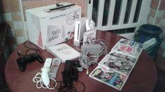 WII CON ACCESORIOS Y JUEGOS: SEMINUEVO - Wii en Avila, Ávila.