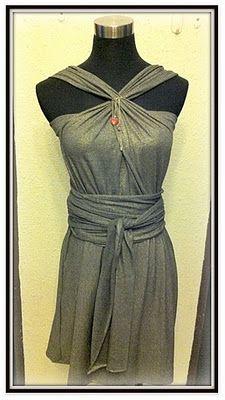 infinity dress...a bunch of diff ways to wear it