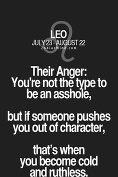 """zodiacmind: """"Zodiac signs, when angry! """""""