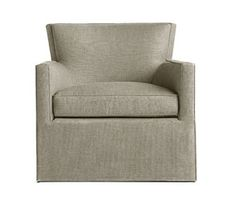 Lounge & Occasional Chairs - A. Rudin - 812 with swivel - 34W x 34D x 23H x 18SH, 32OH