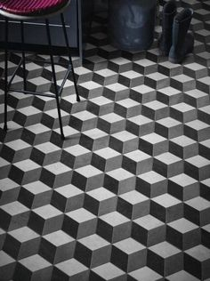 TheMosaicFactory Paris Rhombus x Porcelain Mosaic Tile Floor Patterns, Mosaic Patterns, Floor Design, Tile Design, Wall And Floor Tiles, Wall Tiles, Mosaic Glass, Mosaic Tiles, Rhombus Tile