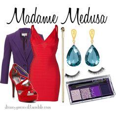 """madame medusa"" by disney-villains on Polyvore"