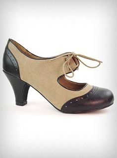 Vintage style mary janes