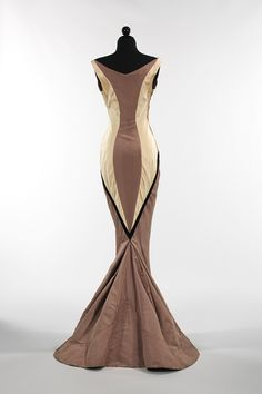 "Charles James: ""Diamond"" evening dress (2009.300.832) 