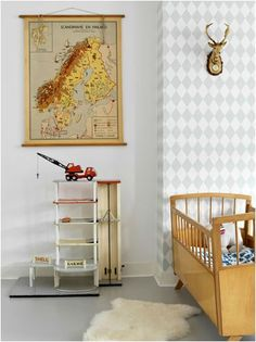 Cute bedroom ideas for girl (baby, toddler, little girl & twin teenage girl).Cute painting and decoration for girls room. Cute Bedroom Ideas, Baby Kind, Nursery Inspiration, Bedroom Styles, Kids Decor, Boy Decor, Kid Spaces, Boy Room, Kids Bedroom