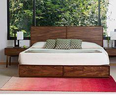 Recámaras | Todo Liverpool en un Click Wood Bed Design, Bedroom Bed Design, Bedding Master Bedroom, Home Decor Bedroom, Modern Bedroom, Bedroom Furniture Sets, Bed Furniture, Bedroom Sets, Cama King
