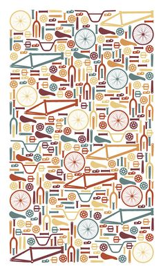 bike parts Bycicle Retro, Bycicle Woman Bmx, Giant Bikes, Bike Poster, Bicycle Art, Cycling Art, Bike Design, Pattern Illustration, Cool Bikes, Mountain Biking