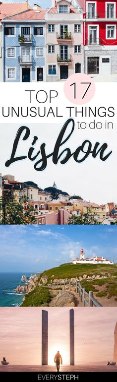 Lisbon is one of those cities that conquer you and never leave your heart. So, what to do in Lisbon? Here are 17 things to do in Lisbon that you need to include in your Portuguese itinerary - some of them are touristy and some of them are Lisbon hidden gems, so you can discover a Lisbon off the beaten path! | Lisbon travel guide | Lisbon hidden places | Lisbon secret places Lisbon unusual | day trips from Lisbon | Sintra | Cascais | Cabo da Roca #lisbon #portugal - via @everysteph