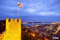 Castillo de San Jorge y Lisboa Miradores de Lisboa las mejores vistas de la Capital de Portugal