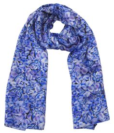 Purple and Blue Butterfly Design Silk Scarf made from 100% silk is the perfect women's fashion accessory. Our Crepe Satin Silk Scarf is made in Britain. https://www.bloomsoflondon.com/ We are inspired by the natural beauty of the flora and fauna of the British Isles. Blooms of London specialises in bespoke women's scarves, floral designer umbrellas, women's jewellery, men's silk ties, designer home decor cushions and pillows, women's handbags and more! #WomensFashion #Fashion