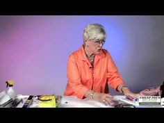 How to Create Greeting Cards With Watercolor Artist Anne Abgott - YouTube