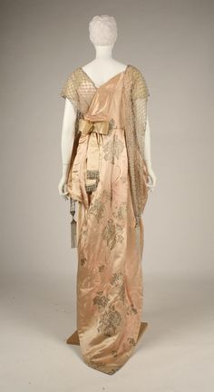 Worth evening dress, 1914  From the METROPOLITAN MUSEUM OF ART