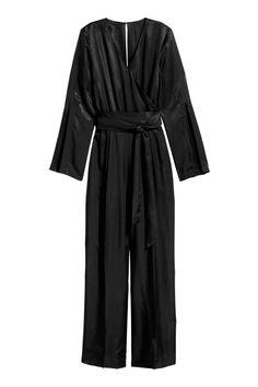 Jumpsuit - Black - Ladies | H&M 1
