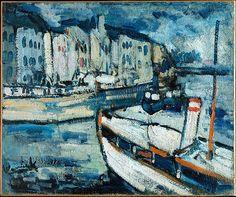 Maurice de Vlaminck • The Port of Le Havre, ca.1906