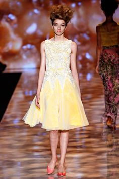 Badgley Mischka Spring 2012 Ready-to-Wear Fashion Show - Kate Howat