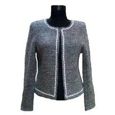 jacheta dama Coral, Sweaters, Fashion, Atelier, Moda, Fashion Styles, Sweater, Fashion Illustrations, Sweatshirts