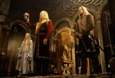 """ families of Middle-earth ((théoden)) + théodred - eomer - Éowyn 'Is there none whom you would name?' 'In the House of Eorl,' answered Hama. 'But Eomer I cannot spare, nor. Thranduil, Legolas, J. R. R. Tolkien, The Two Towers, Tauriel, Karl Urban, Dark Lord, Lord Of The Rings, Middle Earth"