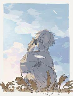 The end is coming. Art Manga, Manga Anime, Anime Art Girl, Anime Boys, Pretty Art, Cute Art, Aesthetic Art, Aesthetic Anime, Images Aléatoires