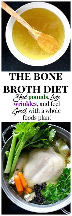 """HOW """"THE BONE BROTH DIET"""" HELPS YOU SHED POUNDS & LOSE WRINKLES ACCORDING TO DR…"""