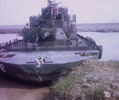 Brown Water Navy Delta Army | Giang thuyền pháo số 2 (ảnh chụp đầu năm 1970) với ...