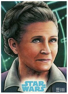 General Leia - Force Awakens Artist Proof by Erik-Maell on DeviantArt