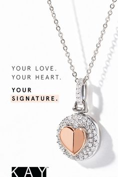 a9c9fca8f Shop gemstone jewelry at KAY. See more. Give your whole heart. Discover the  Signature Heart collection this Valentine's Day, exclusively at