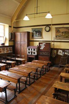 beautiful old schoolhouse // I'd like to live here