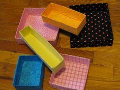 Link to homemade boxes.  Awesome!    http://justsaynotoglitter.blogspot.com/2012/03/organization-kick.html#    http://lovelydesign.com/downloads/perfect_box_instructions.pdf