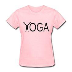 Custom T-Shirts Yoga Funny Womens Tee