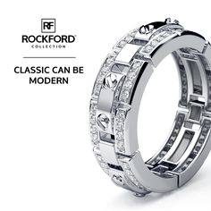 Classic Can Be Modern. Designer Rex Mens's Diamond Ring by Rockford Collection  SHOP at www.rockfordcollection.com  Worldwide Shipping