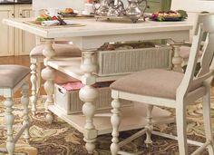 Paula Deen Linen Kitchen Gathering Table UF-996652