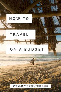The tips and tricks you need to travel on a budget. You don't need to be rich to travel. Tags: budget travel, cheap travel, travel on a budget, backpacking, digital nomad, travel the world..