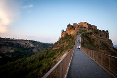 May 2013 Issue - The pathway leading to the Italian town of Civita di Bagnoregio