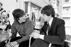 paul and john  #beatles #doitanyway.dk #music