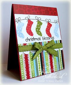Christmas Blessings SC395 by sweetnsassystamps - Cards and Paper Crafts at Splitcoaststampers