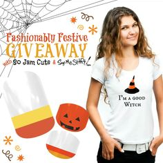 Win TWO sets of #Jamberry Nails (from So Jam Cute) and a custom tee (from Sign My Shirt)! Ends 10/3