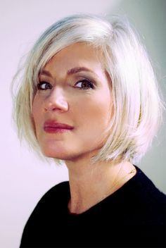 Image result for salt and pepper hair with highlights