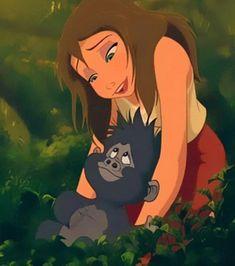 Hi there, I am Jane Porter. I have a love for all things wild, especially my own wild man Tarzan. Tarzan Disney, Disney Pixar, Disney Characters, Disney Princesses, Disney Kunst, Arte Disney, Disney Magic, Next Disney Princess, Disney Love