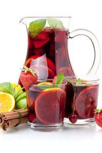 Erdbeer-Campari-Bowle - Rezept