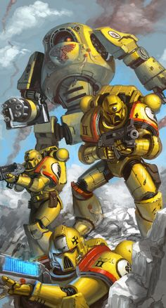 bolter dreadnought imperial_fists imperium plasma space_marines stuarthughe