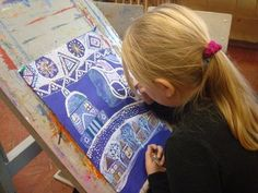Красавица Зима: marina_le Art Lessons For Kids, Projects For Kids, Art Projects, Crafts For Kids, Winter Jokes, Naive, Kids Artwork, Heart For Kids, Art Lesson Plans
